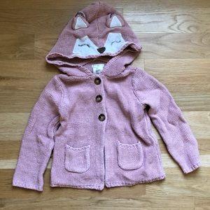 Max studio baby fox sweater sz 3t